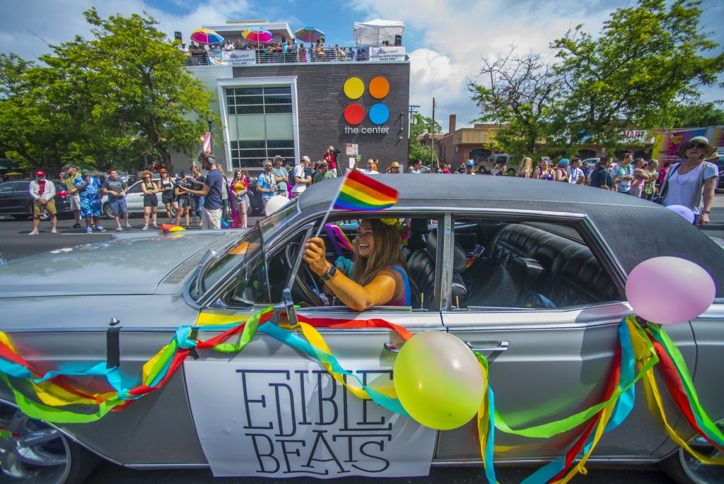 Coors Light Denver Pride Parade 2018 ph. Evan Semon