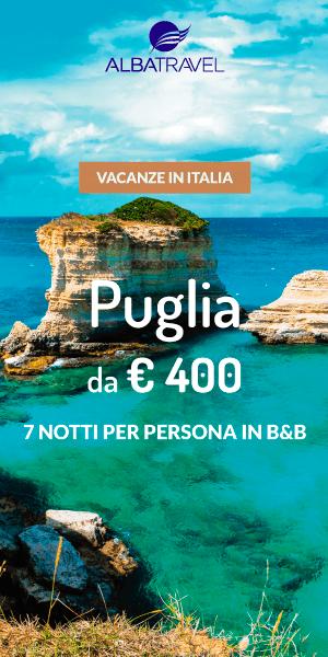 Albatravel, vacanze in Italia: Puglia da 400 euro