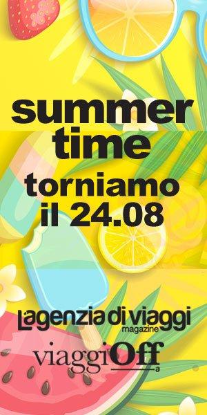 Summer Time, torniamo il 24 agosto.