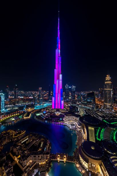 Burj Khalifa, Led Show