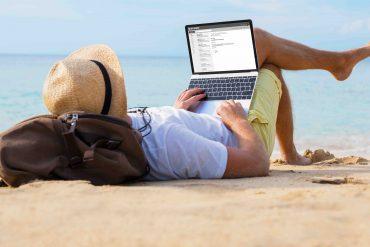 lavoro spiaggia smart working