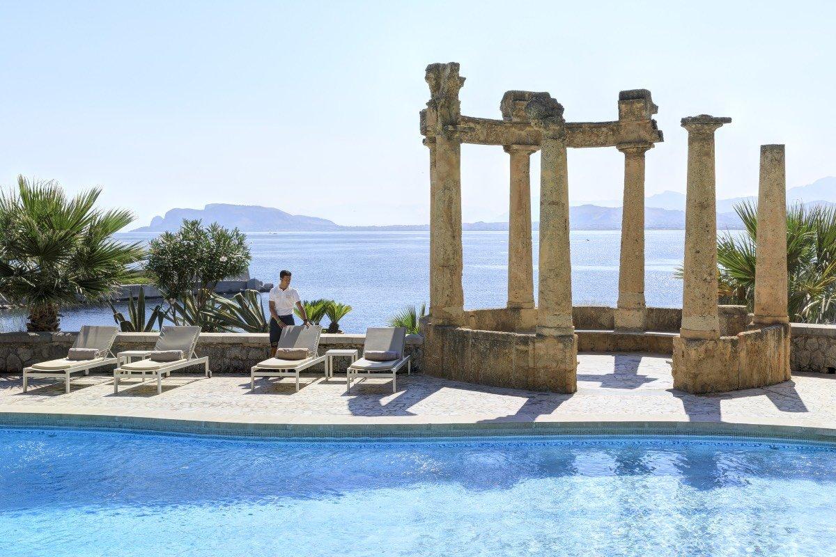 Villa Igiea, piscina