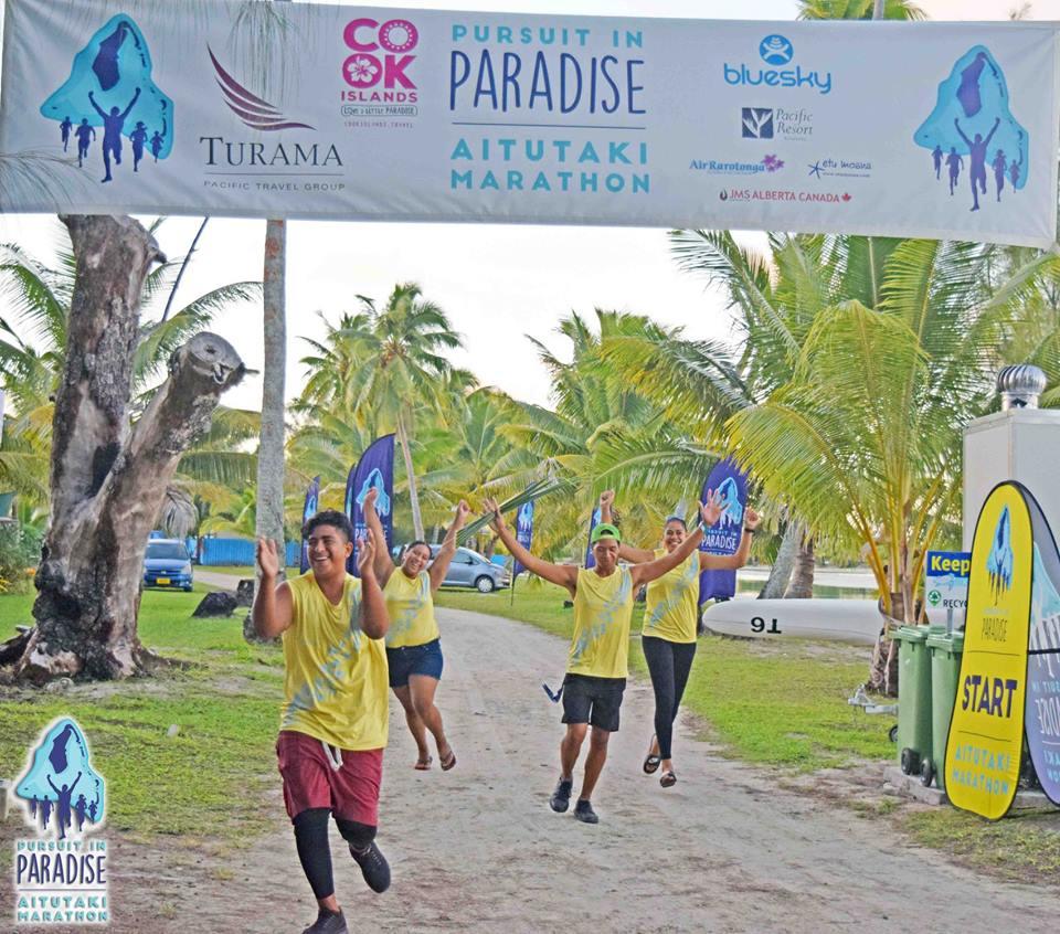 Aitutaki Pursuit in Paradise Marathon 2021