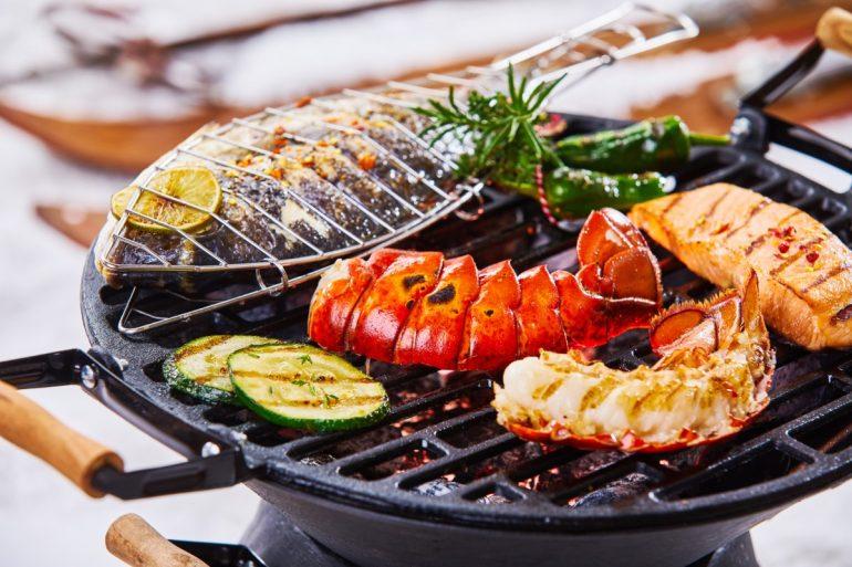 Crayfish grill