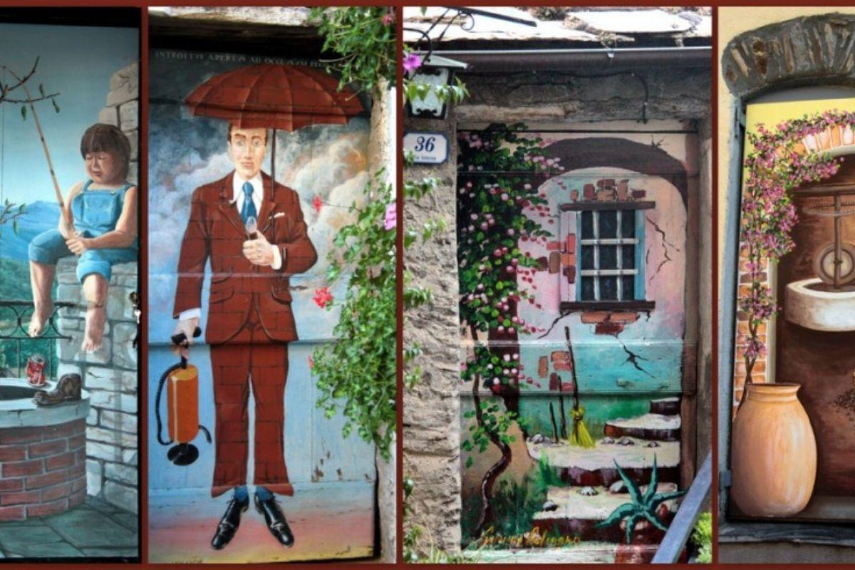 Valloria paese porte dipinte