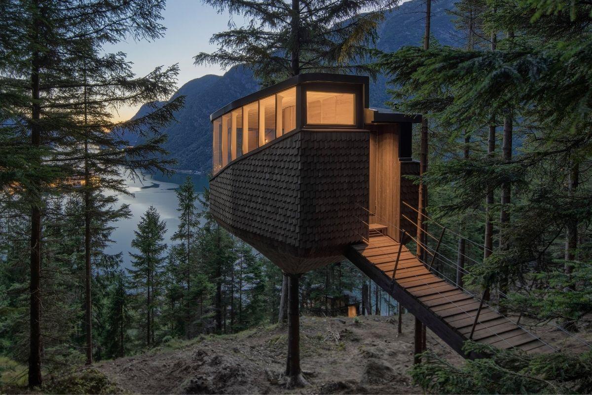 treetop Norvegia Woodnest - Photo - Sindre Ellingsen