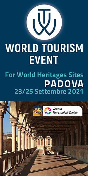 WTE 2021 World Tourism Event - Padova 23/25 Settembre