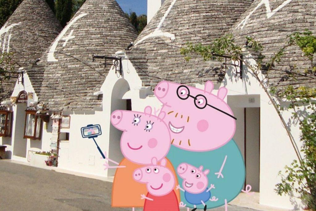 Alberobello vacanze famiglia peppa pig