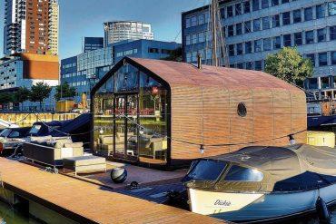 houseboat rotterdam
