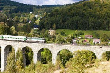 turismo ferroviario repubblica ceca
