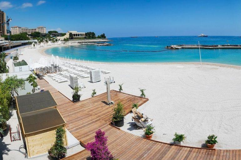 Principato di Monaco Larvotto Renzo Piano