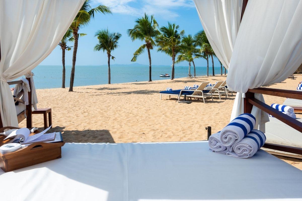 spa in spiaggia