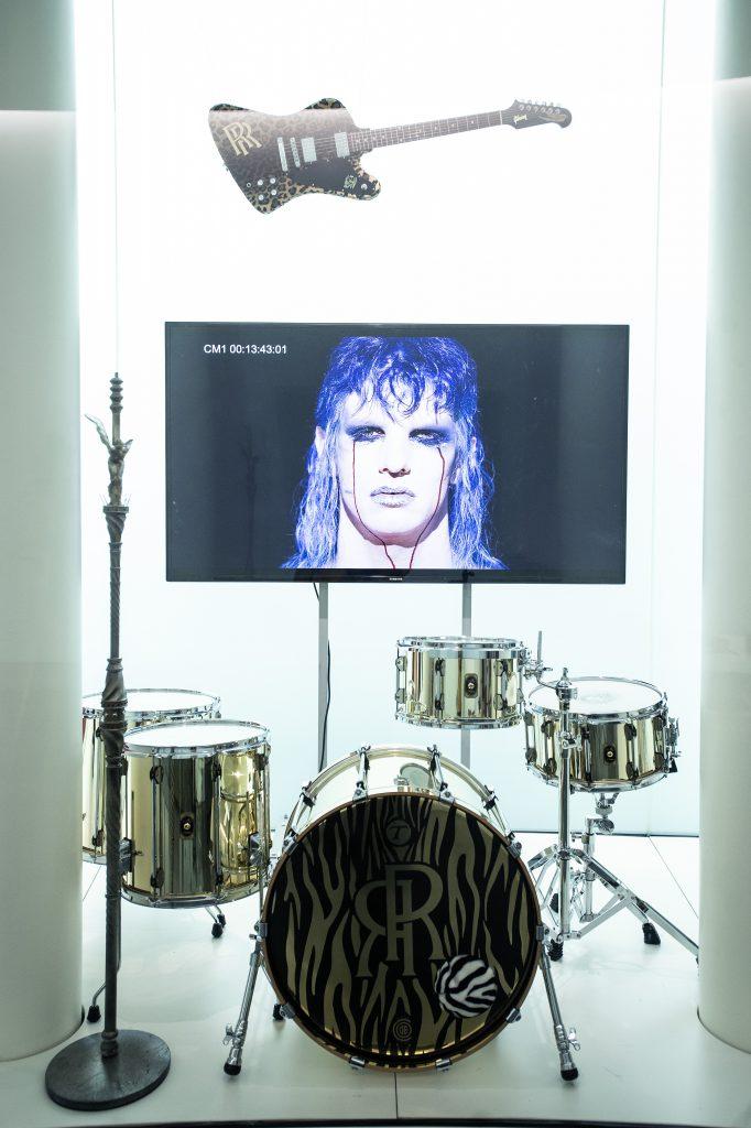 Achille Lauro mostra Mudec Milano