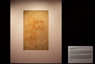 Autoritratto Leonardo credits Davide Zannotti