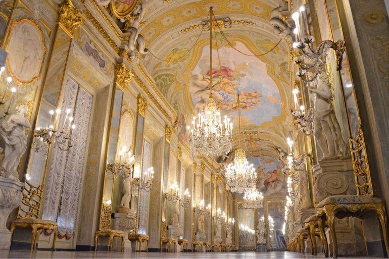 Museo di Palazzo Reale - Galleria degli Specchi - Foto Comune di Genova