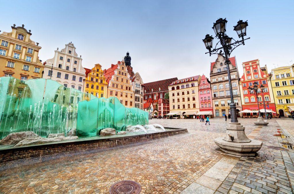 Breslavia fontana Piazza