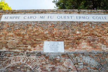 Recanati Giacomo Leopardi parco letterario