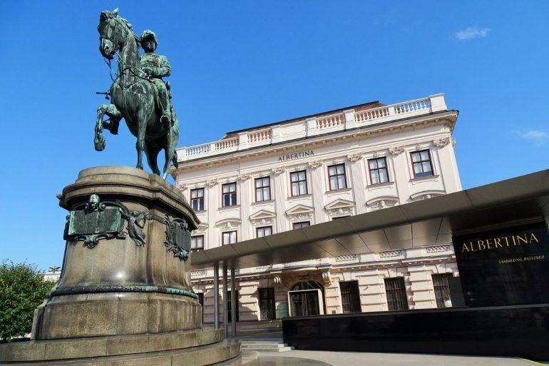 Albertina, Vienna, Austria credits albertina